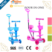 Cheap kick scooter with pedal foot scooter for kids