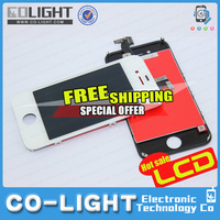 2015 Free Shipping to order!!! For Apple iphone 4s LCD with touch screen Glass and digitizer assembly