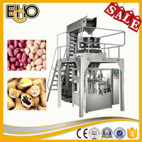 Advanced high speed eight working position premade flat bag rotary counting full automatic corn Fill-Seal packing machine