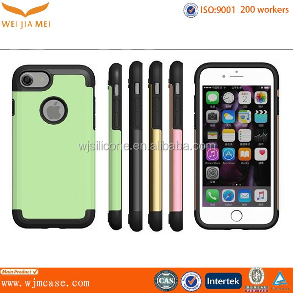 Factory Competitive Price PC+TPU Phone Case for iphone 7