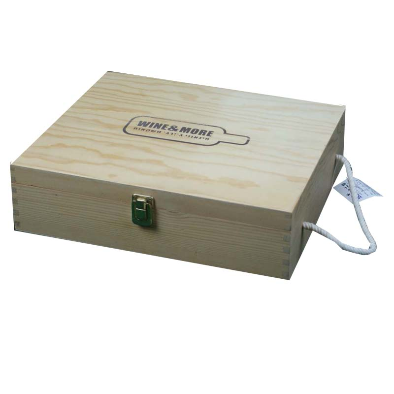 Wooden wine gift box manufacturer from China