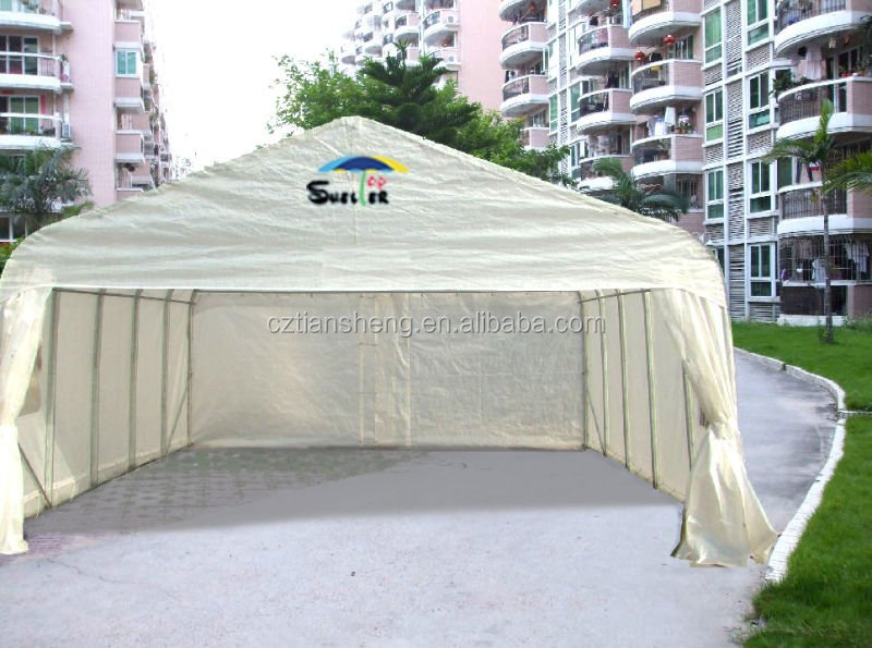 factory directly sell different size outdoor car shelters