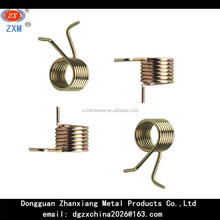 custom stainless steel double wheel torsion springs for electronic switch