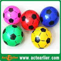 cheap custom design toy balls inflatable pvc soccer ball for children