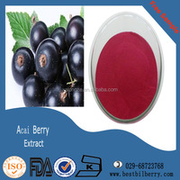 spray dried acai Berry extract powder for beverage drink and Ice Creams