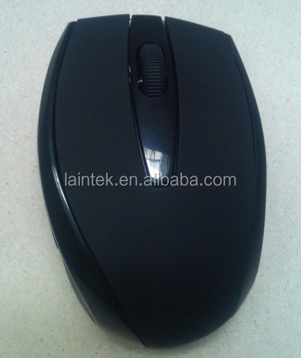 2016 hot selling 2.4G with battery unique cool designed siberian personalized big size wireless mouse