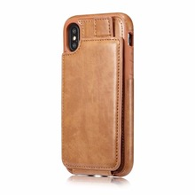 for iPhone X Wallet Phone Case , Wallet cover For iPhone X Credit Card Slot Holder