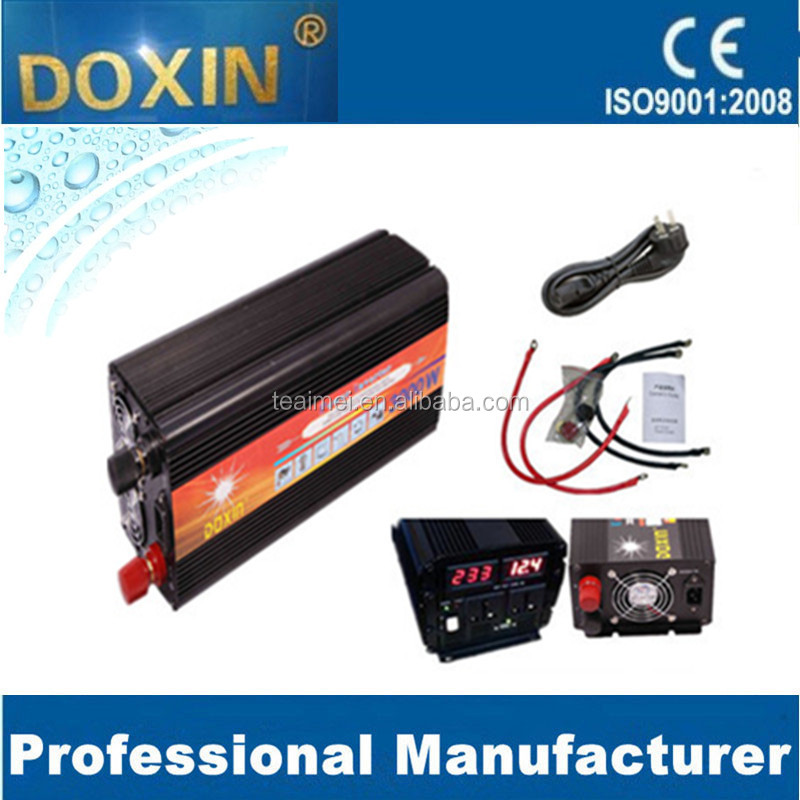 Multi-functional DC-AC LED screen 3000W DOXIN Solar modified sine wave inverter with charger