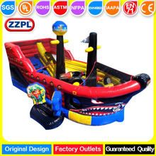 ZZPL Pirates Bounce House for toddlers, Mini Inflatable Playground on sale, Ship Inflatable Bouncer Combo