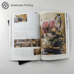 Luxury Special Paper Monthly Magazine Printing/Thread Binding Magazine Printing/Wholesale Adult Advertising Coloring Catalogue