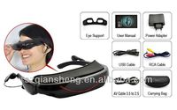 72 inch Wide Screen Virtual Display Video Glasses 4GB Portable Video Eyewear AV