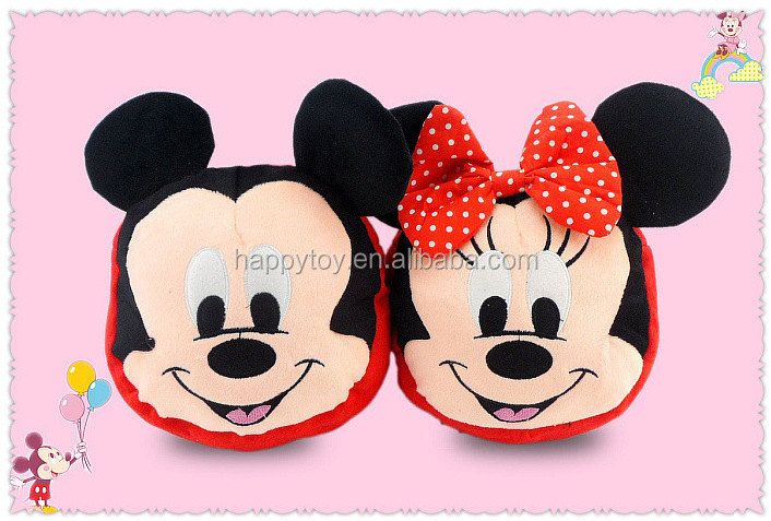 2017 plush Mickey Minnie plush bag for kids