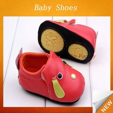 Child shoes for fashion Casual children shoes red dog pu design for wholesale children's shoes Lyd-591