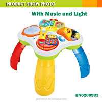 Lovely musical learning table cartoon education toy multifunction baby toy