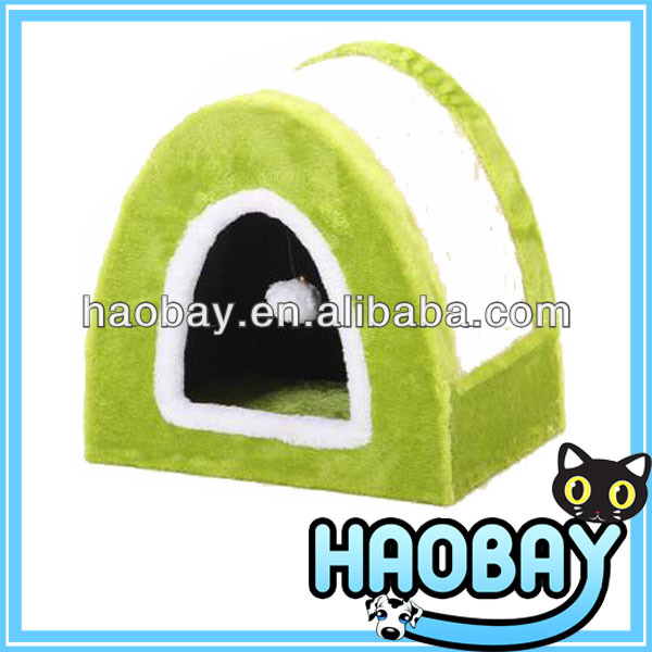 Enclosed Is The Green White Intersection Arch Ball Cat Scratching Trees House