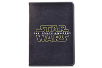 High Definiton Printing Star War Stand PU Leather Cover For iPad Mini 4