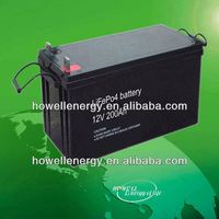 12v 200ah wind power storage battery/li ion battery pack 12v 200ah