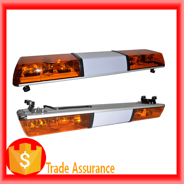 flashing yellow light bar
