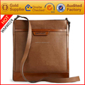 Supplier Luxurious handmade newsboy genuine leather messenger bags