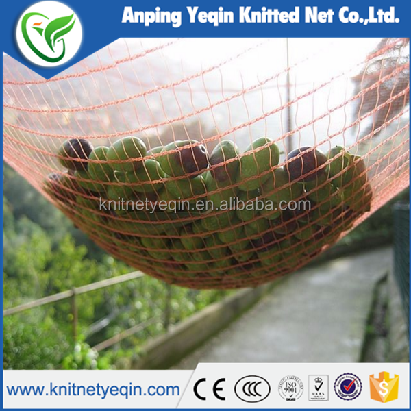 Hot sale Mediterranean plastic olive harvest nets,olive net for farming