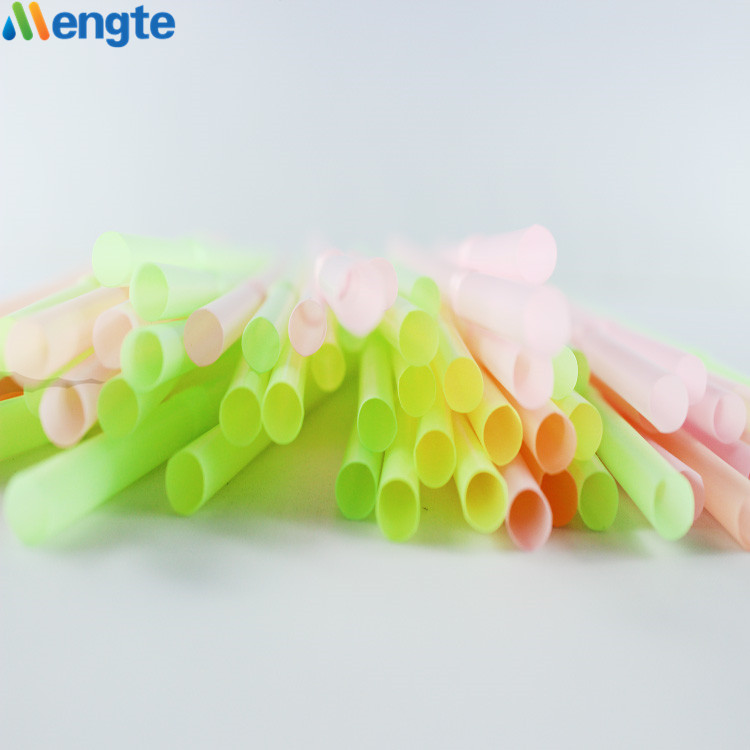 Biodegradable And Eco-friendly Disposable Plastic Compostable Straw Biodegradable Flexible PLA Drinking Straw Wholesale