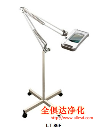 LED Rectangle Lens esd magnifier lamp for inspection beauty