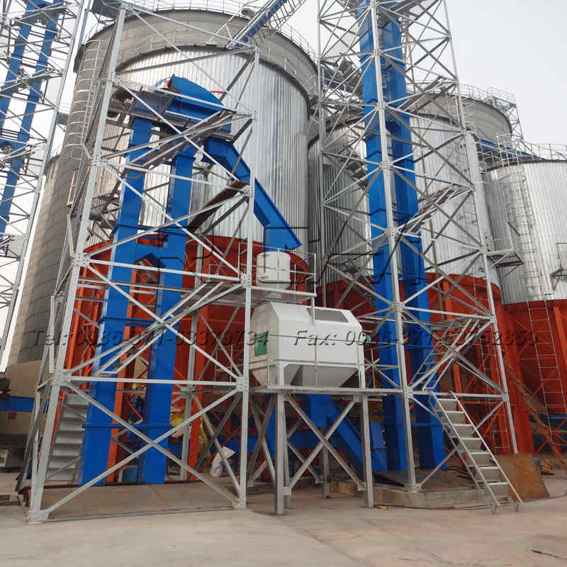 galvanized steel feed silo for sale