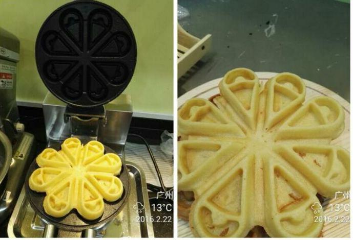 electric waffle cone makerflower shape waffle makerrotary waffle maker buy waffle cone makerflower shape waffle makerrotary waffle maker product on