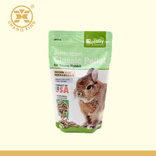 Wholesale Customized Laminated Resealable Plastic Rabbit og Food/Pet Food/Animal Feed Packaging Bag