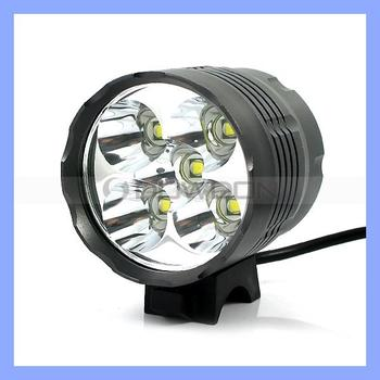 1A 5 CREE XML-T6 LED Bicycle Cycle Light
