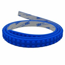 OEM welcomed Silicone toy block tape compatible legos