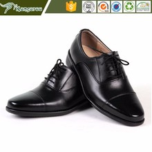 KMB33 Carmy OEM Men Leather African Army Dress Shoes Making Manufacturers