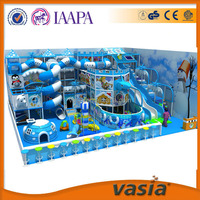 ASTM certificate amusement park Indoor Playround Soft Play Zone ,happy play fort for kids