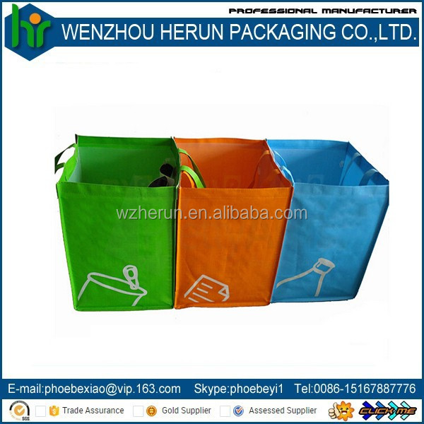 Specialized suppliers pp woven recycled polypropylene garbage bag,pp woven trash bag,coated woven polypropylene bags