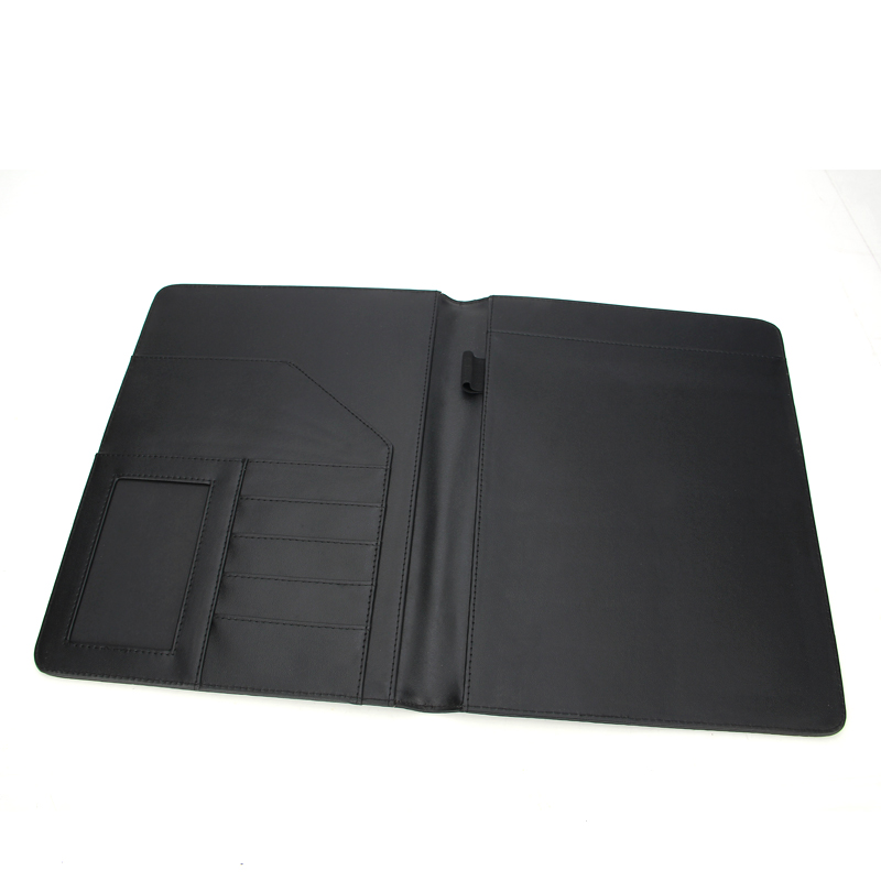 Wholesale Promotional RFID PU leather A4 A5 A6 notebook