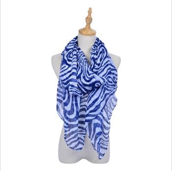 Wholesale Long Zebra Print Animal Scarf Elegant Shawl Scarves