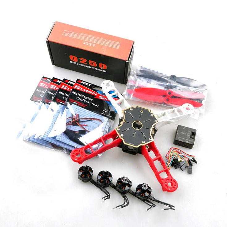 F11069 <strong>Mini</strong> 250 FPV RC Drone Quadcopter Combo ARF Q250 Frame CC3D Flight Controller Emax Brushless Motor ESC