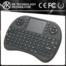 RK Cheapest 2.4Ghz USB Connection i8 Mini Wireless Keyboard Air Mouse With Multiple Colors Backlight
