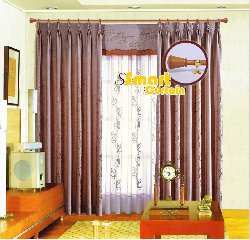Electric curtains intelligent home automation curtain RAIL