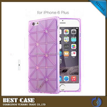 Hot selling mobile phone case for iphone 6 5.5 inch, for iphone 6 plus soft cover