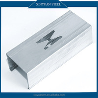 European Galvanized Metal Studs/ CD UD CW UW Channel Light Steel Profiles