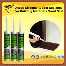 Acetic Silicone Rubber Sealants For Building Materials Grout Seal