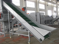 Plastic film washing recycling machine PE PP agricultural film crushing washing line