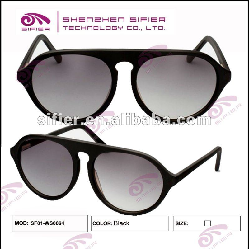 Acetate 2012 Top Fashion Male Sunglasses