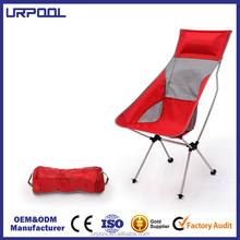High Quality Camping Beach Chair Outdoor Leisure Chair 600D Oxford Fabric Lightweight Folding Chair for hiking