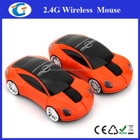 High Quality New Fashionable 3D Optical Car Shape Wireless Mouse