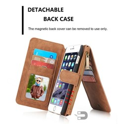 Fashion Multifunction Wallet Case For iPhone 6 6s plus, High Quality Leather phone case with card slots for iphone6 plus