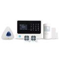 gsm alarm system work with 100 smart sockets burglar alarm system with ip camera