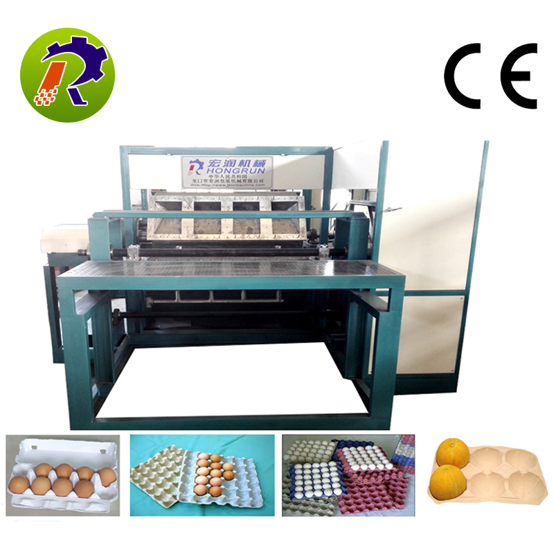 1500-3000pcs/hr Full automatic steel material egg tray machine dryer