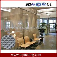 Hot Sale Durable Wire Mesh Coil Drapery,Fireplace Screens